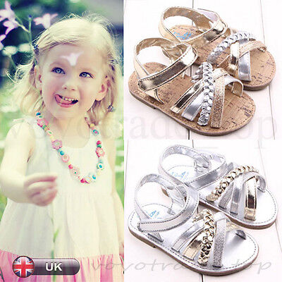 Fashion Baby Shoes Summer Beach Outdoor Sandals Kid Girl Princess Toddler Shoes
