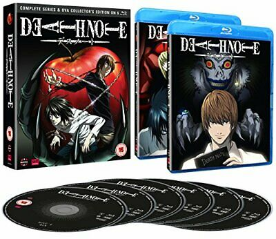 Death Note: Complete Series And Ova Collection [Blu-ray] [DVD][Region 2]