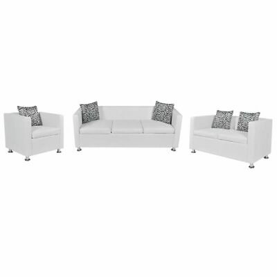 vidaXL Sofa Set 3-Sitzer 2-Sitzer Loungesofa Couch Relaxsessel Armsofa Armsessel