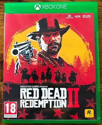 Red Dead Redemption 2  Xbox One Xbox 1 Xbox - Excellent used condition