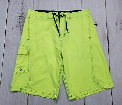 4d11bc82ad Mens OP Flex 4 Way Stretch Neon Casual Board Shorts SIze 32 Ocean Pacific