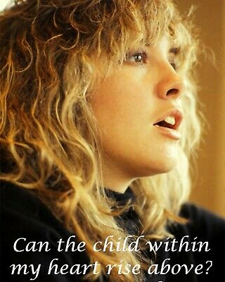 STEVIE NICKS Quote Gloss 8x10 Photo Music Poster Fleetwood Mac