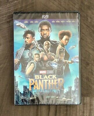 Black Panther DVD Brand New Marvel Studios Free Shipping PG-13