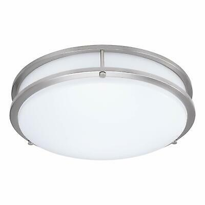 Dimmable LED Flush Mount Ceiling Light 22W (100W Equivalent) - Water Resistant