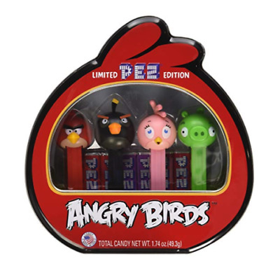 Angry Birds Pez Gift Set Limited edition tin. Perfect for Christmas