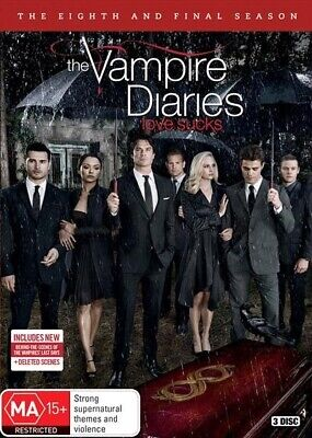 Vampire Diaries - The Complete Eighth and Final Season (DVD)