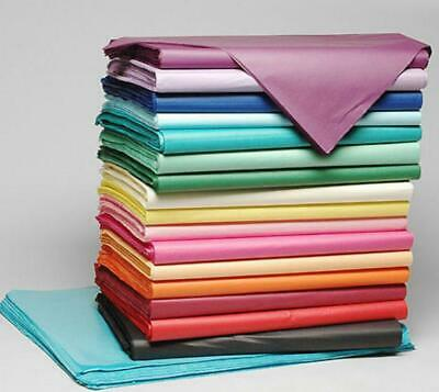 QUALITY TISSUE PAPER SHEETS ACID FREE 750mm x 500mm COLOURS WRAPPING GIFT WRAP