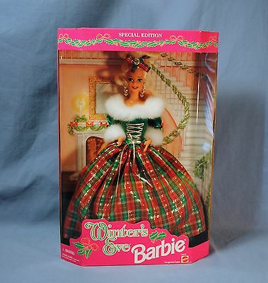 1994 Winter's Eve Barbie Doll-NRFB-Special Edition