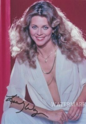 5x7 LINDSAY WAGNER THE BIONIC WOMAN ACTRESS 1974 AUTOGRAPHED PUBLICITY PHOTO