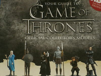 Eaglemoss Game Of Thrones Figure Collection Variation Listing: Daenerys,Jon Snow