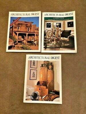 Architectural Digest Vintage 1993 Collector's Editions Lot of 3