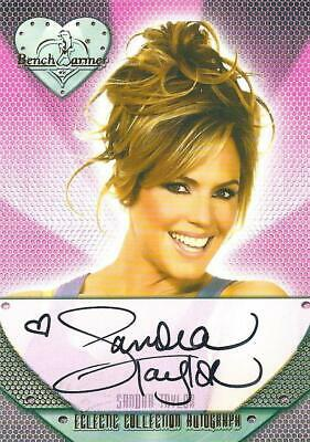 c204ebfdff8 2014 Bench Warmer Eclectic Collection Sandra Taylor Authentic Autograph  Card  43