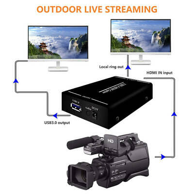 Useful USB 3.0 HDMI Video Capture 1080P For Windows Linux Os X Suitable