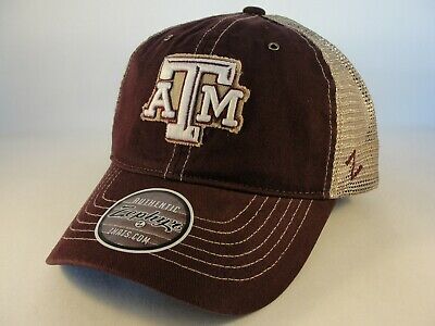 cheap for discount ec3ab 97a9a Texas A M Aggies NCAA Zephyr Trucker Snapback Hat Cap