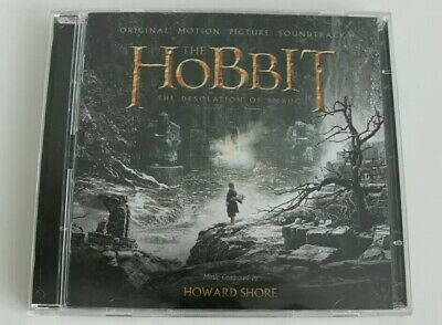 The Hobbit The Desolation of Smaug The Motion Picture Soundtrack CD - Preowned