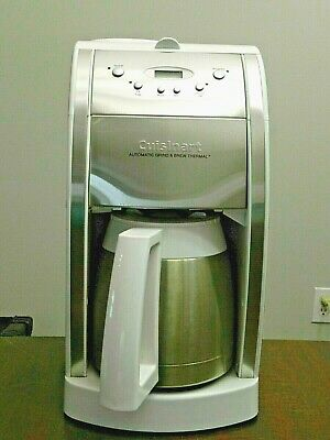 Cuisinart DGB-600BC Grind and Brew Thermal 10 Cup Automatic Coffee Maker White