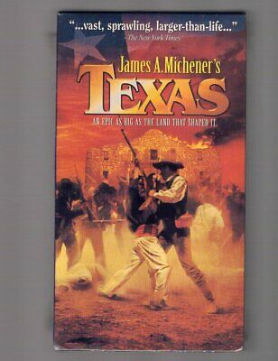 James Michener's Texas Vhs Home Video Western Randy Travis Brand New & Sealed
