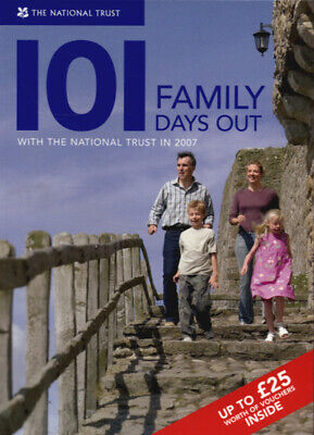 101 family days out with the National Trust 2007 by National Trust (Paperback /