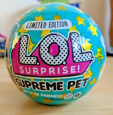 LOL Surprise Limited Edition SUPREME PET Series Lucky Luxe Pony Ball Target