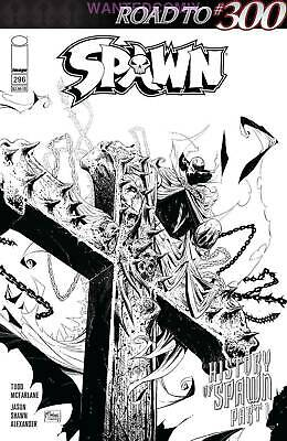 SPAWN #296 COVER C MATTINA SKETCH VARIANT McFARLANE ROAD TO 300 NEW 1 2019
