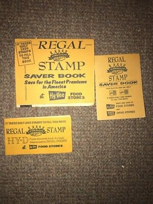 Hy-Vee Grocery Store Regal Stamp Saver Book