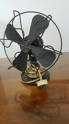 whirlwind westernhouse electric fan early 1900 madein USA