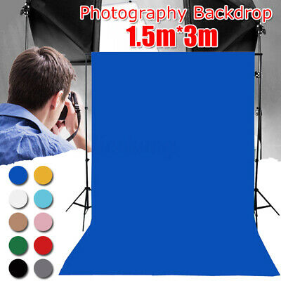 3m*1.5m Photography Studio Video Non-woven Backdrop Photo Background Stand  AU