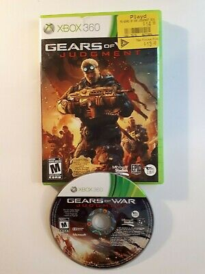Gears Of War Judgment - XBox 360 Microsoft CANADA FAST FREE SHIPPING