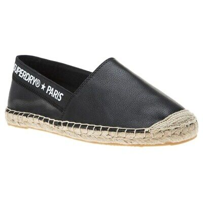 97944516720 NEW WOMENS SUPERDRY NAVY JETSTREAM TEXTILE SHOES ESPADRILLES ...