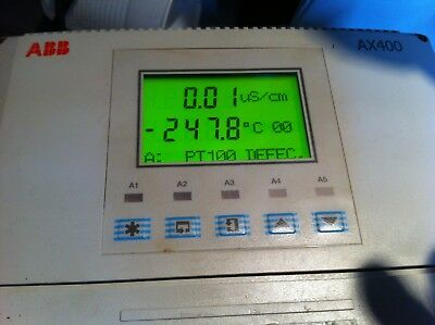 ABB AX400 occasion Transmitter Conductivity Analyzer