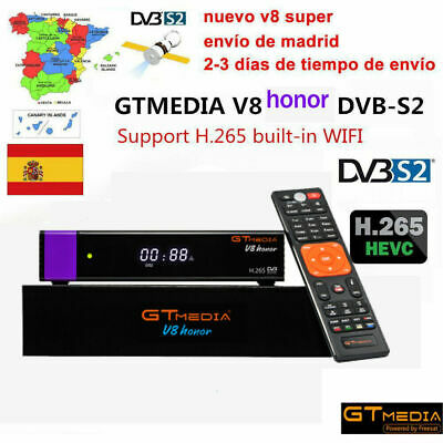 Gtmedia V8 Honor DVB-S2 TV Satellite Receiver HD 1080P Built-in wifi Set Top Box