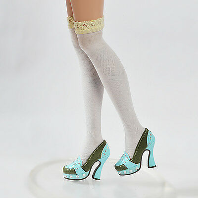 "Doll Olive Shoes//Pumps for 16/"" Tonner Ellowyne Wilde Cami 50MM 17MM x501es5"