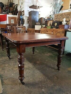 Victorian Wind Out Extending Dining Table