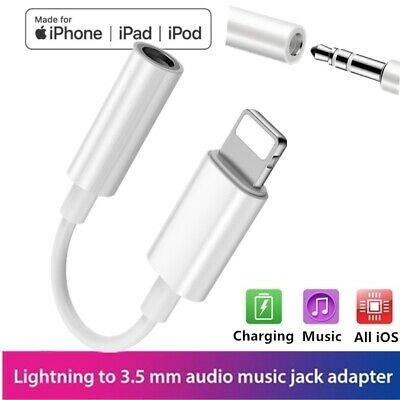 3.5mm Jack Adapter For Apple iPhone 7 8 Plus X XR XS Earphone Headphone Earbud