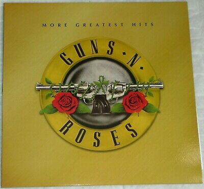 GUNS 'N ROSES – Greatest Hits -  For the first time on Vinyl Album, with POSTER