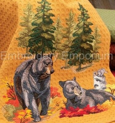 North Woods In Autumn Collection - Machine Embroidery Designs On Cd Or Usb