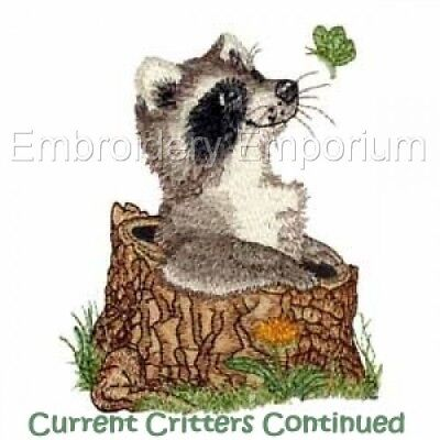 Current Critters Continued Collection - Machine Embroidery Designs On Cd Or Usb