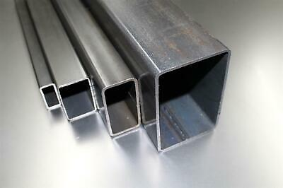 15,00 100x50x3mm Rectangular Pipe Square Tubing Profile Stahl-Rohr to 1000mm