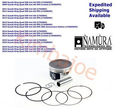 Piston Kit Suzuki King Quad 700 Standard Bore 102mm 101.97mm Namura Size B