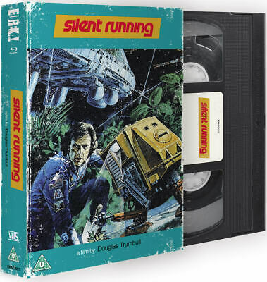 Silent Running Blu Ray / VHS Collectors Packaging / WORLDWIDE SHIPPING