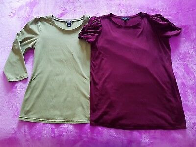 H&M Mama and New Look maternity Size 14/EUR L t-shirt top bundle (2 items)