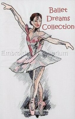 Ballet Dreams Collection - Machine Embroidery Designs On Cd Or Usb