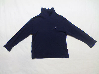 Polo by Ralph Lauren Long Sleeve Navy Turtleneck Size 4