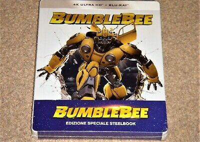 Bumblebee 4K UHD Limited Edition Steelbook+Blu Ray / Import /WORLDWIDE SHIPPING