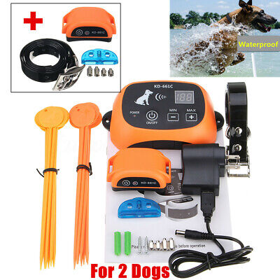 Wireless Pet Dog Fence Containment System Waterproof Electric Transmitter