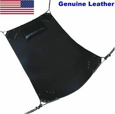 Genuine-Heavy-Duty-Leather-Sex-Swing-Sling-Adult-Play-Room-Fun-Sw6