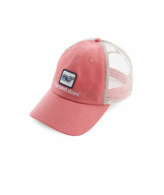 a5334018 Vineyard Vines Low Profile Deconstructed Whale Trucker Hat Style #1A1562 New
