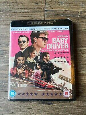 Baby Driver 4K Ultra HD, Blu-Ray, Digital Download Brand New Sealed Free Post