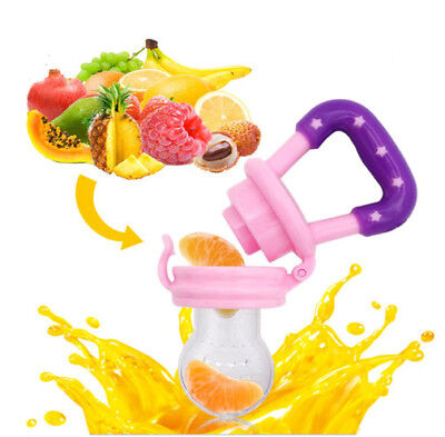 Silicone teat for fruit food feeding Nipple Safety Feeder