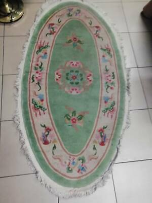 tapis chinois ovale